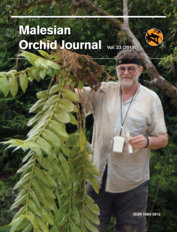 Front Cover of Malesian Orchid Journal Vol. 23